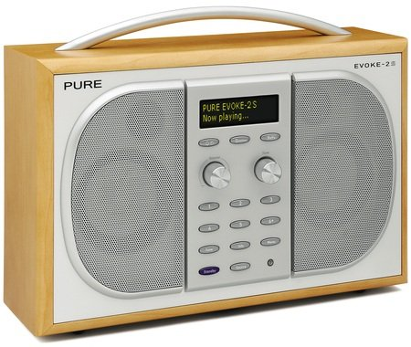 pure digital evoke 2s dab and fm radio the register. Black Bedroom Furniture Sets. Home Design Ideas