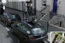Street View spymobile captures Street View spymobile on Street View