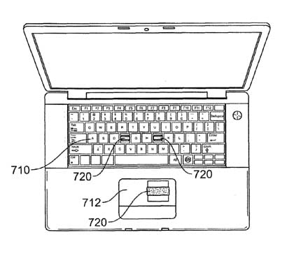 Apple biometric-security patent