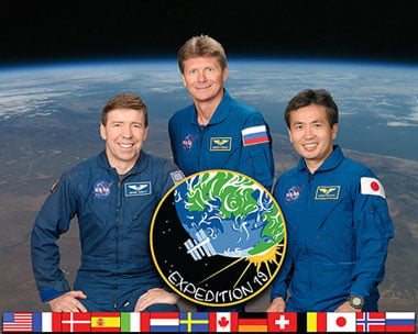 The Expedition 19 Crew. Pic: NASA