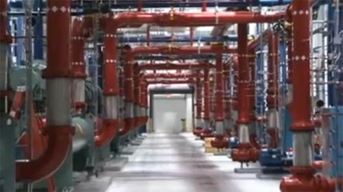 Google Cooling Plant