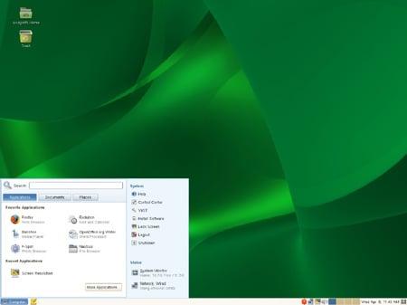 SLED 11 desktop
