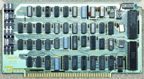 This Old Box - S-100 CompuPro CPU 8085/88 card