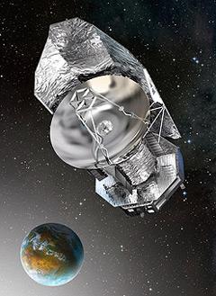 Artist's impression of Herschel. Pic: ESA