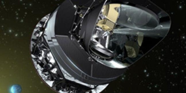 Artist's impression of Planck; Pic: ESA