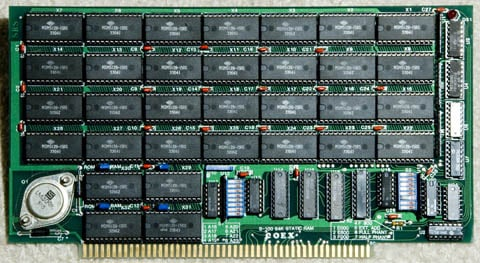 This Old Box - S-100 COEX RAM card