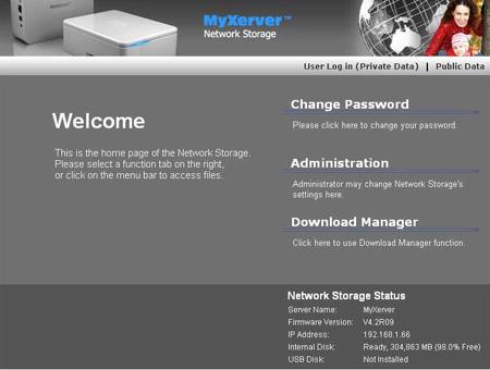 EZY Technologies MyXerver MX3600