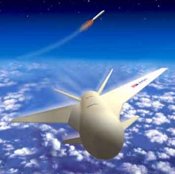 US Air Force concept of the Reusable Booster in action