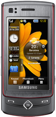 Samsung Tocco Ultra Edition S8300