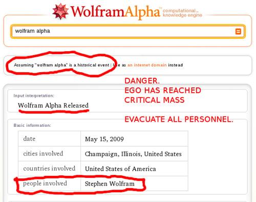Wolfram on Wolfram