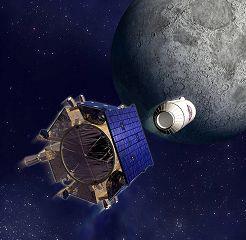 Centaur rocket separates from Shepherding Spacecraft. Pic: NASA