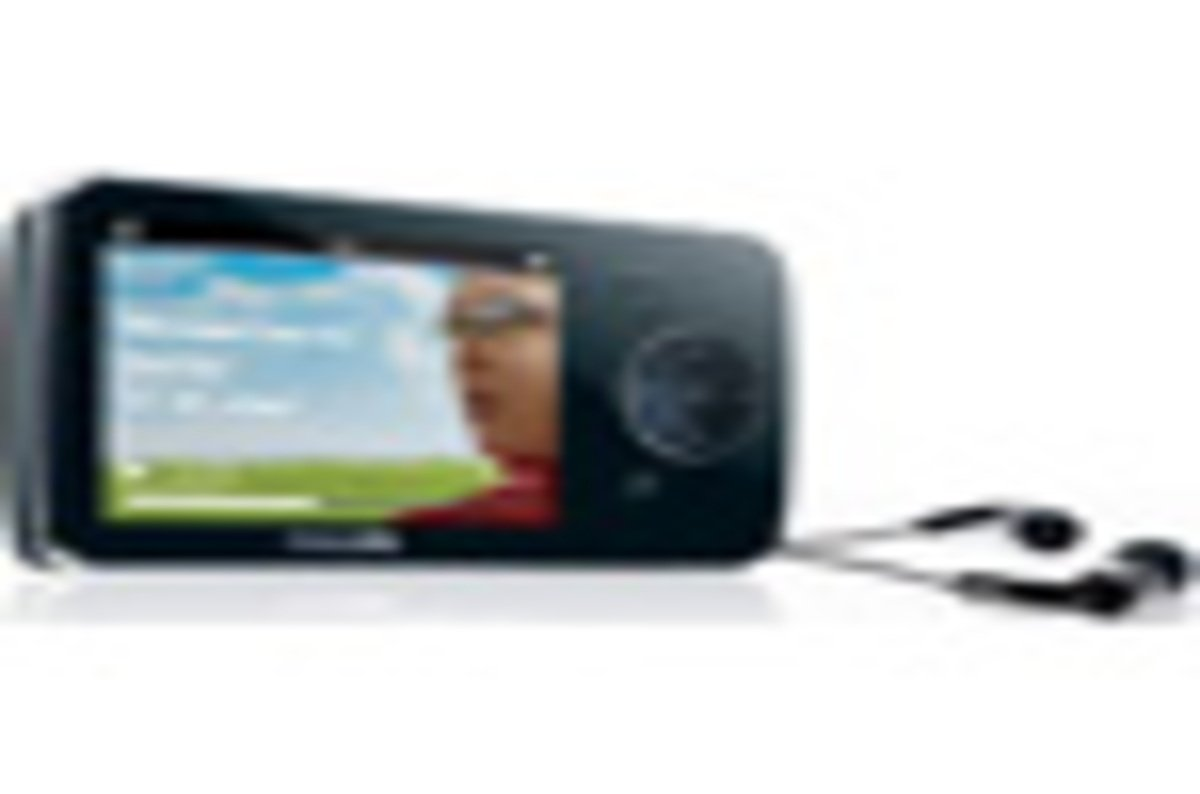 Philips Gogear Opus Personal Media Player The Register