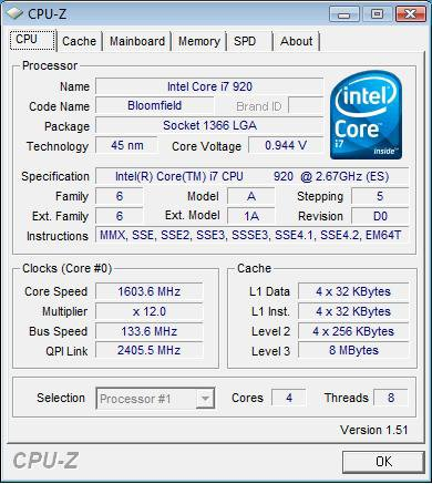 i7 920 Stepping D0