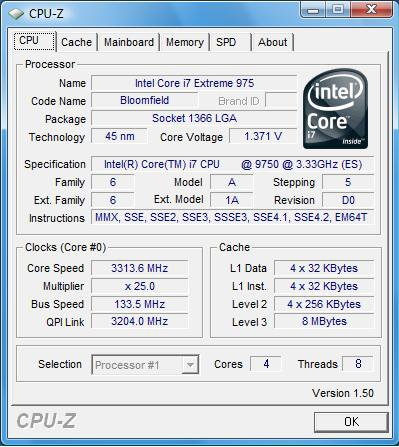 i7 975 Stepping D0