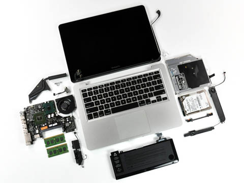 MacBook Pro 13-inch - full teardown