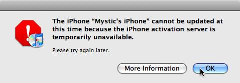 iPhone 3.0 update