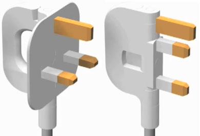 folding_UK_plug