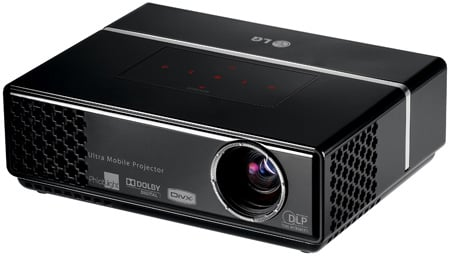 LG HS102 Ultra Mobile projector