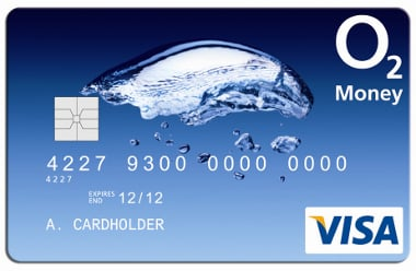 O2 Pre-Paid Credit Card