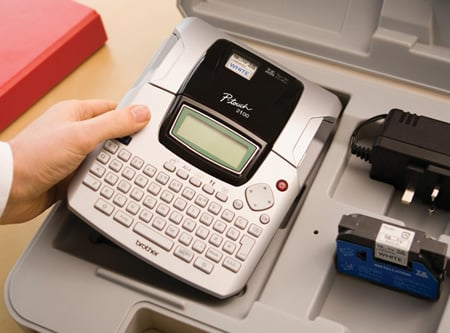 Brother P Touch 2100 Label Printer The Register