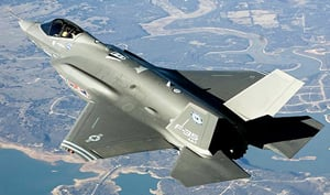 The F-35. Pic: Lockheed Martin