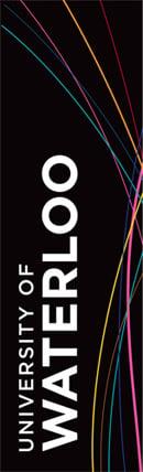 The University of Waterloo banner