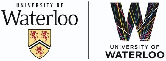 Before and after: The old and new University of Waterloo logos