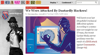 Gawker floored by Dastardly (& Muttley) hacking krew