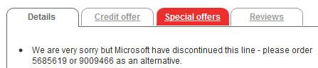 Argos_Xbox_message