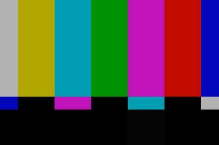 The BBC HD Testcard