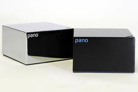 """Pano Logic's Pano Device """"zero client"""" - front"""