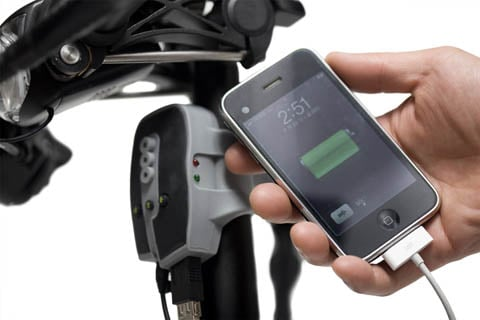 Dahon BioLogic FreeCharge bicycle-powered USB charger