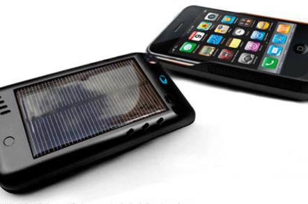 Novothink Solar Surge solar-powered iPhone case