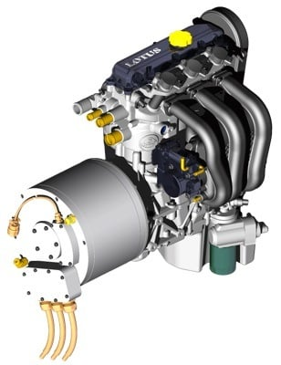 Lotus Range Extender Engine