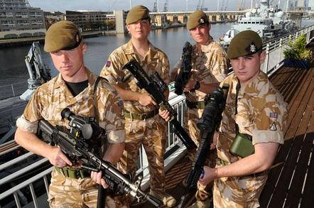New infantry kit modelled by British troops. Credit: MoD