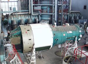 An Almaz orbital space station. Credit: NPO Mashinostroyenia