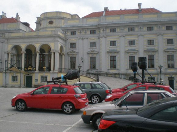 Pack of Street View spymobiles clocked in Vienna
