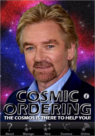 Noel Edmonds' Cosmid Ordering