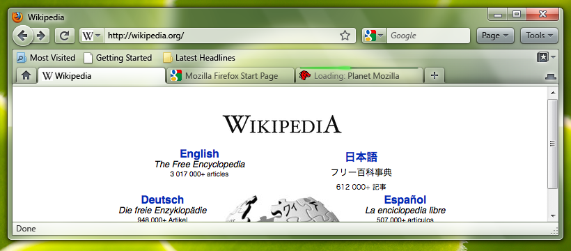 Proposed Firefox 3.7 UI