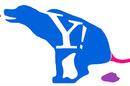 An alternative Yahoo! logo, courtesy of a Flickr user