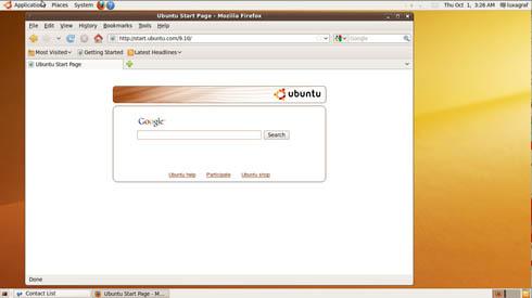 Ubuntu 9.10, aka Karmic Koala