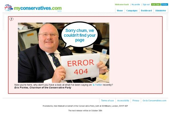 Eric Pickles in a pickle