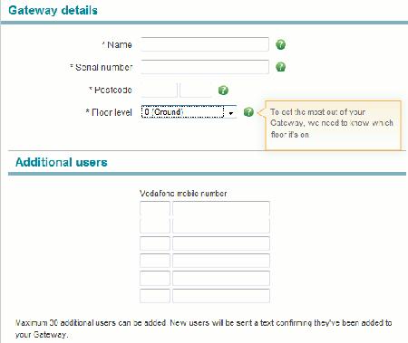 Vodafone Access Gateway