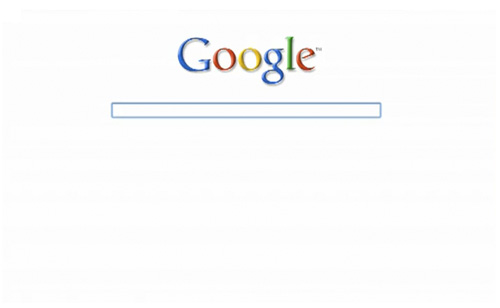 Google maximizes minimalist homepage madness the register for Minimalist homepage