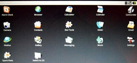 Android on Acer