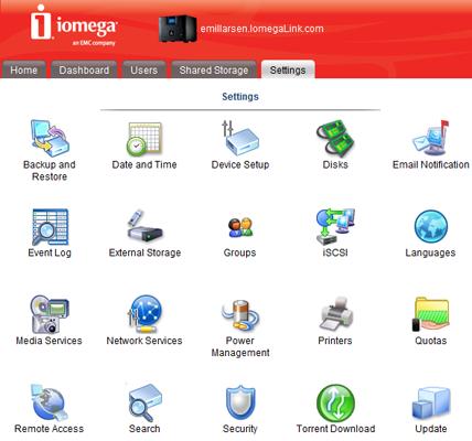 Iomega StorCenter ix4-200d