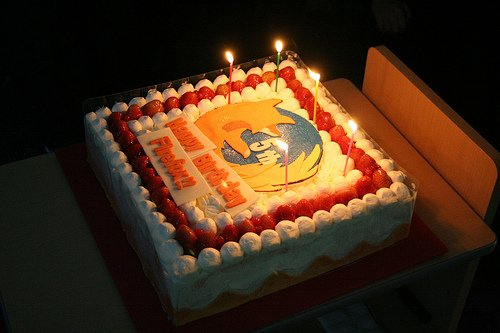 Firefox turns fives