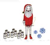Drunken Santa 1