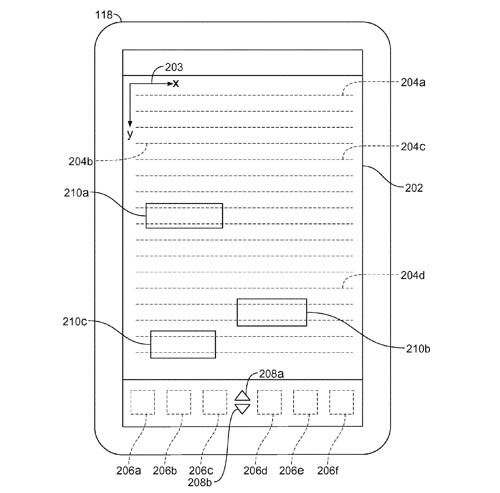 Apple patent illustration for pen-based handwriting recognition