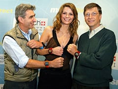 Gates and friends with Spot watches
